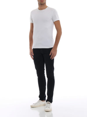 DONDUP: pantaloni casual online - Pantaloni George skinny in velluto