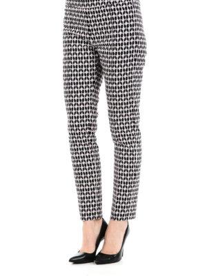 DONDUP: pantaloni casual online - Pantaloni Hope con motivo cuori
