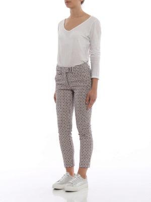 DONDUP: pantaloni casual online - Pantaloni Perfect jacquard a soli