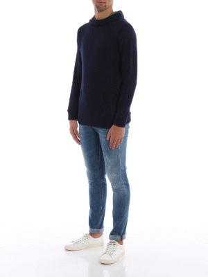 DONDUP: maglia collo rotondo online - Pullover modello felpa cotone e lana merino