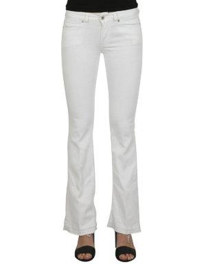 DONDUP: jeans a zampa online - Jeans Neon svasati bianchi