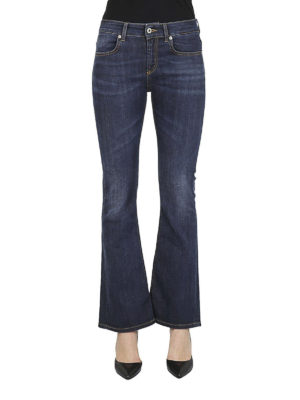 DONDUP: jeans a zampa online - Jeans svasati Trumpette