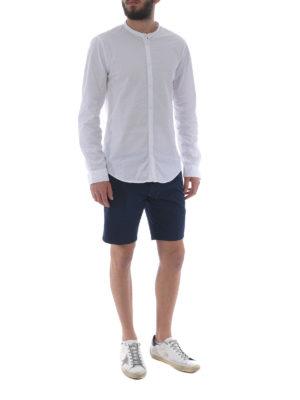 DONDUP: camicie online - Camicia in cotone con collo coreana