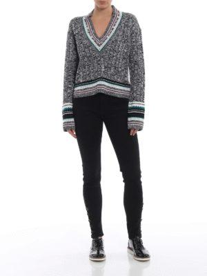 DONDUP: jeans skinny online - Jeans neri Luriel super skinny
