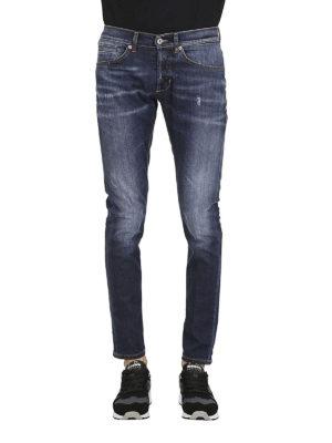 DONDUP: jeans skinny online - Jeans George in denim slavato