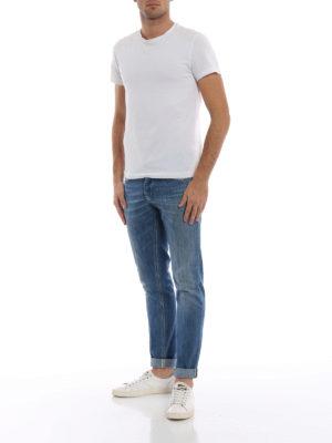 DONDUP: jeans skinny online - Jeans George in denim chiaro