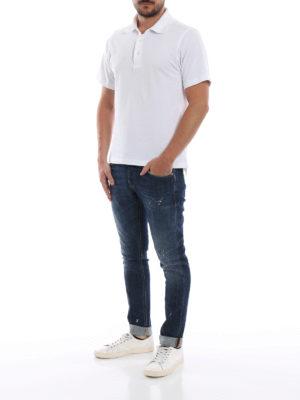 DONDUP: jeans skinny online - Jeans skinny George in denim macchiato