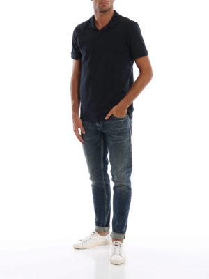 DONDUP: jeans skinny online - Jeans George in denim fermo slavato
