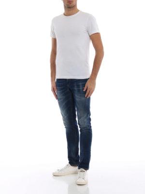 DONDUP: jeans skinny online - Jeans skinny George in denim délavé