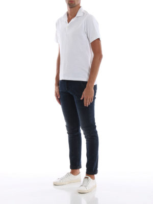 DONDUP: jeans skinny online - Jeans skinny Konor a lavaggio scuro