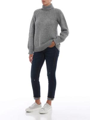 DONDUP: jeans skinny online - Jeans skinny Monroe con piccoli strappi