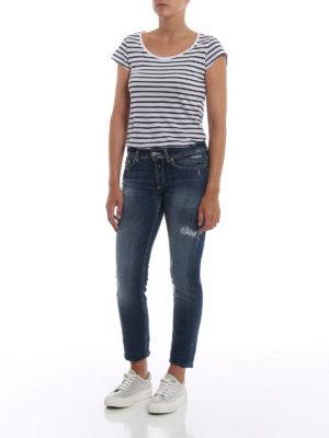 DONDUP: jeans skinny online - Jeans Monroe skinny a vita bassa