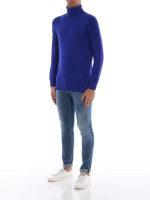 DONDUP: jeans skinny online - Jeans skinny Ritchie in denim lavaggio chiaro