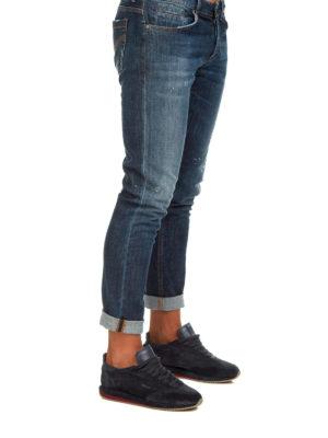 DONDUP: jeans skinny online - Jeans cinque tasche in denim délavé