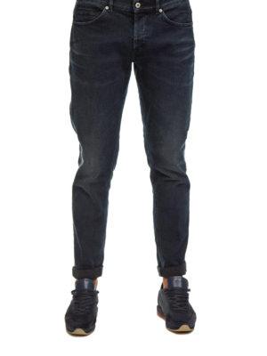 a sigaretta - Jeans cinque tasche a lavaggio scuro