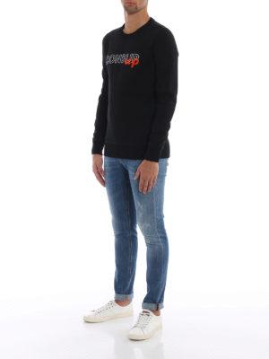 DONDUP: Felpe e maglie online - Felpa in cotone con ricamo Dondup Up