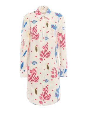 Dondup: shirts - Gnosia printed tunic shirt