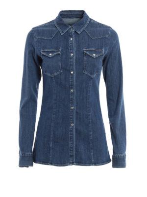 Dondup: shirts - Jayl denim shirt