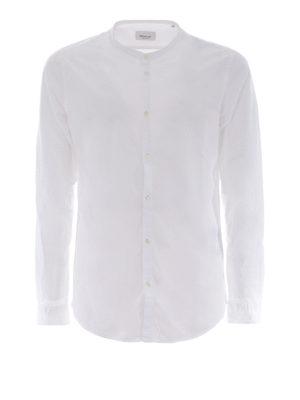 DONDUP: camicie - Camicia in cotone con collo coreana