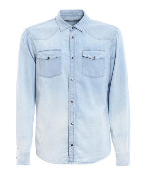 Dondup: shirts - Neely denim shirt