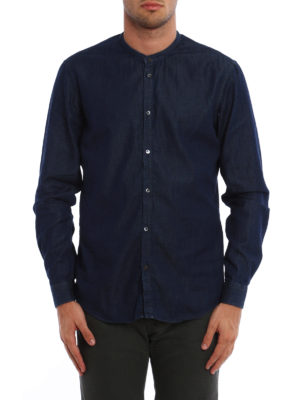 Dondup: shirts online - Guro Piping shirt