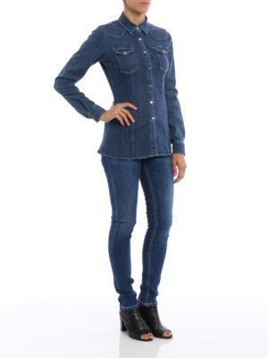 Dondup: shirts online - Jayl denim shirt