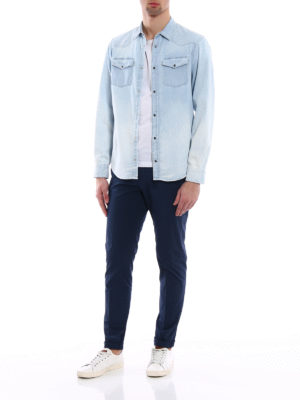 Dondup: shirts online - Neely denim shirt