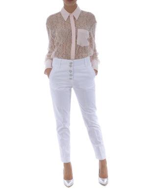 Dondup: shirts online - Pink lace bodysuit shirt