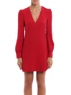 Dondup: short dresses online - Alesana crepe cady short dress