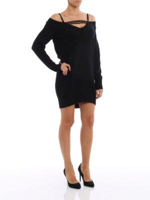 Dondup: short dresses online - Wool and cashmere short dress