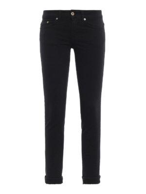 DONDUP: jeans skinny - Jeans skinny neri Monroe