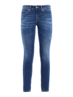 Dondup: skinny jeans - Gaynor low waist skinny jeans
