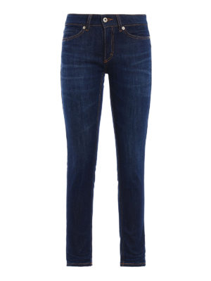 Dondup: skinny jeans - Gaynor skinny low waisted jeans
