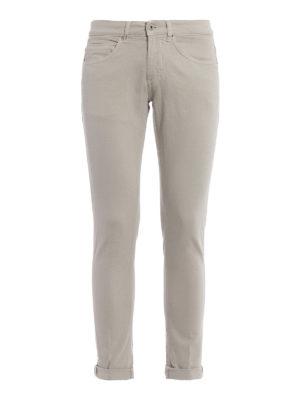 Dondup: skinny jeans - George beige denim skinny jeans