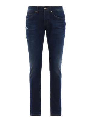 Dondup: skinny jeans - George cotton jeans