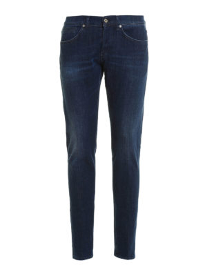 Dondup: skinny jeans - George faded denim jeans
