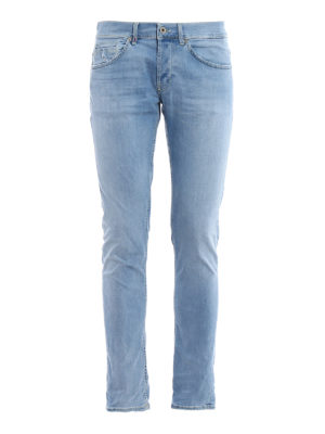 Dondup: skinny jeans - George light wash skinny jeans