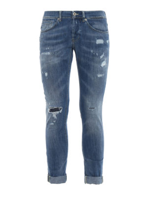 Dondup: skinny jeans - George skinny fit denim jeans