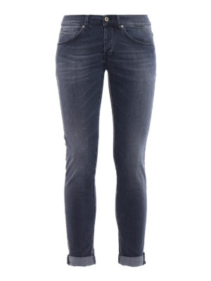 Dondup: skinny jeans - George stone washed skinny jeans