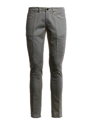 Dondup: skinny jeans - George worn out jeans