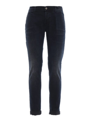 DONDUP: jeans skinny - Jeans skinny Konor a lavaggio scuro