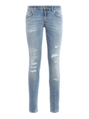 Dondup: skinny jeans - Lambda low waist jeans