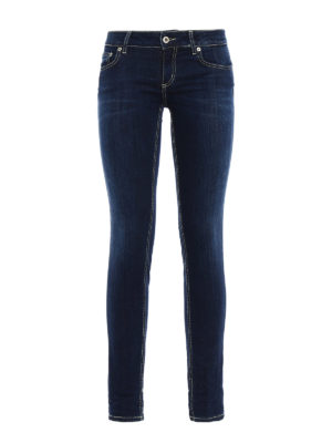 Dondup: skinny jeans - Lambda low waist skinny fit jeans