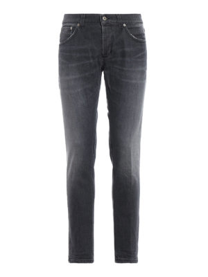 DONDUP: jeans skinny - Jeans Ritchie grigio chiaro