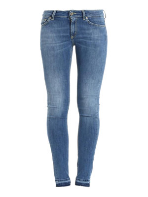 Dondup: skinny jeans - Low rise skinny jeans