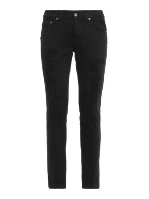 Dondup: skinny jeans - Mius ripped jeans