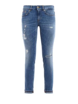 Dondup: skinny jeans - Monroe crop jeans