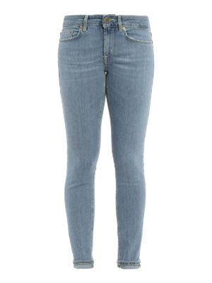 Dondup: skinny jeans - Monroe low waist jeans