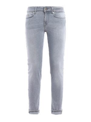 Dondup: skinny jeans - Monroe low waist skinny jeans
