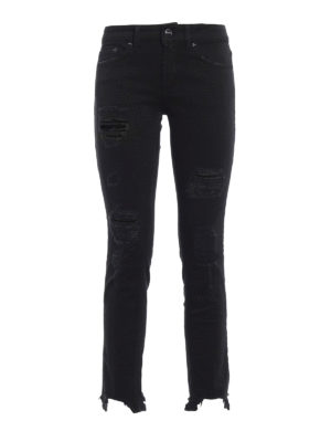 Dondup: skinny jeans - Monroe ripped jeans